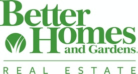Better Homes and Gardens JF Finnegan Logo